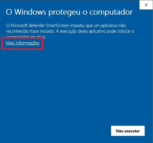 Forçar instalação no Windows 10